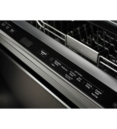"24"" KitchenAid Dishwasher with Third Level Rack and PrintShield Finish - KDTE234GBS"