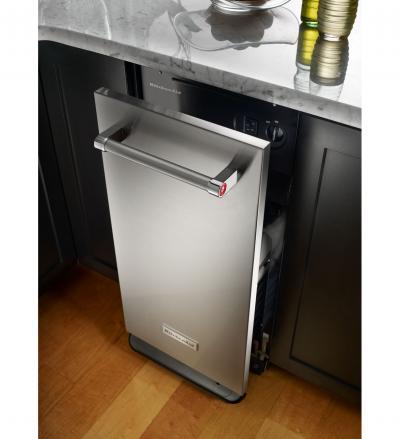 KitchenAid 1.4 Cu. Ft. Built-In Trash Compactor - KTTS505ESS