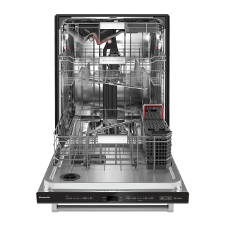 "24"" KitchenAid 44 dBA Dishwasher with FreeFlex - KDTM804KBS"