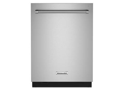 "24"" KitchenAid 44 dBA Dishwasher with FreeFlex™ Third Rack and LED Interior Lighting - KDTM804KPS"