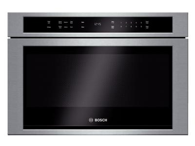 "24"" Bosch Drawer Microwave 800 Series - Stainless Steel HMD8451UC"