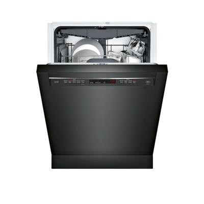 "24"" Recessed Handle Dishwasher 300 Series- Black SHEM63W56N"