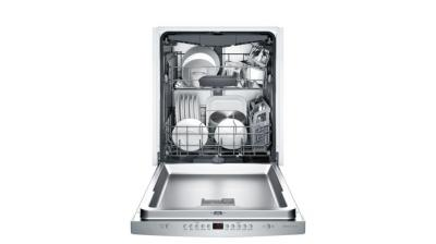"24"" Bosch 300 Series Fully Integrated Dishwasher Stainless steel-SHS863WD5N"