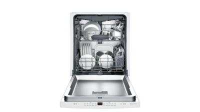 "24"" Bosch 300 Series Built In Fully Integrated Dishwaher White-SHS863WD2N"