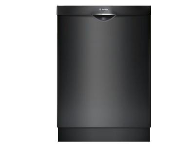 "24"" Bosch 300 Series Fully Integrated Dishwasher- Black-SHSM63W56N"