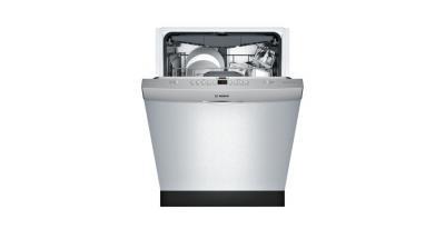 """24"""" Bosch 300 Series Built-In Dishwasher Stainless steel-SHSM63W55N"""