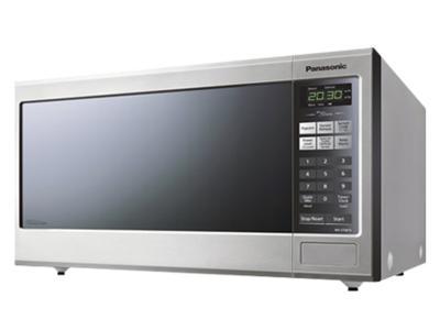 "21"" Panasonic Mid-Size Genius Inverter Stainless Steel Microwave Oven - NNST681SC"