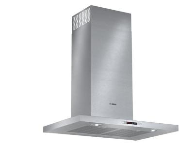 "30"" Bosch 500 Series Box Canopy Chimney Hood Stainless Steel - HCB50651UC"