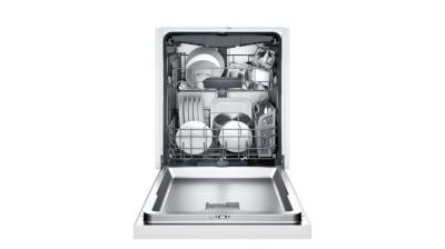 "24"" Bosch  300 Series Built-In Dishwasher White - SHEM63W52N"