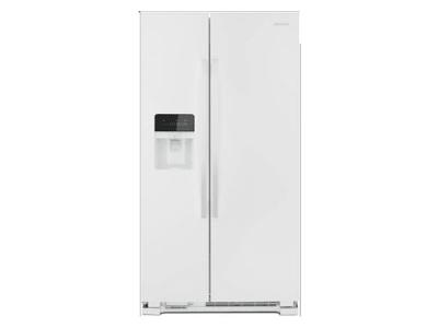 "33"" Amana Side-by-Side Refrigerator with Dual Pad External Ice and Water Dispenser - ASI2175GRW"