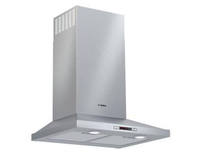 """24"""" Bosch Wall Mount Pyramid Style Canopy Hood With 300 CFM - HCP34E52UC"""
