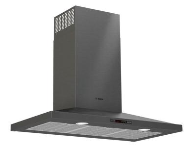 """36"""" Bosch 300 Series wall-mounted cooker hood Stainless steel - HCP86641UC"""