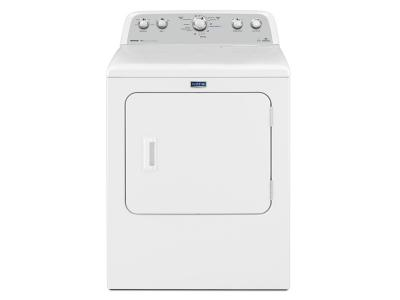 "29"" Maytag Bravos High Efficiency Electric Dryer with Steam Refresh Cycle  7.0 cu. ft. - YMEDX6STBW"