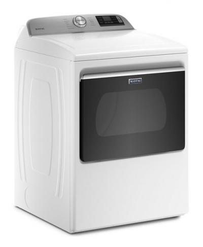 Maytag 7.4 Cu. Ft. Smart Top Load Electric Dryer With Extra Power Button - YMED6230HW
