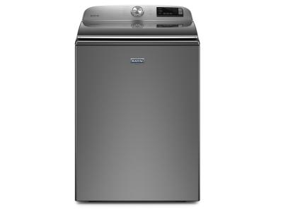 "27"" Maytag 4.7 Cu. Ft. Top Load Washer With Stainless Steel Drum - MVW6230HC"