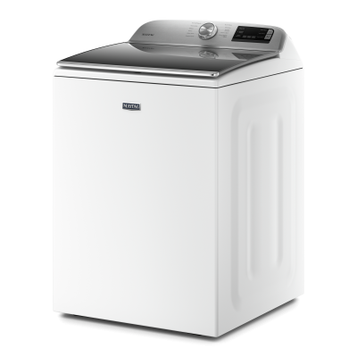 "27"" Maytag 5.4 Cu. Ft. Top Load Washer With Stainless Steel Drum - MVW6230HW"