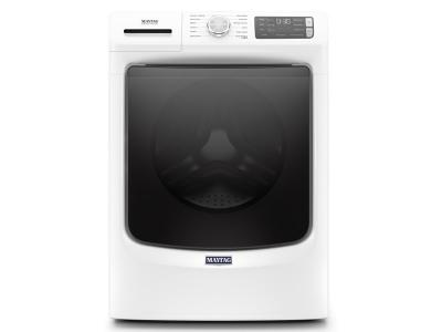 """27"""" Maytag 5.5 cu. ft. Front Load Washer with Extra Power and 16-Hr Fresh Hold® option - MHW6630HW"""