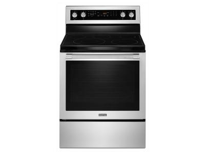 "30"" Maytag WIDE ELECTRIC RANGE WITH TRUE CONVECTION AND POWER PREHEAT - 6.4 CU. FT. YMER8800FZ"
