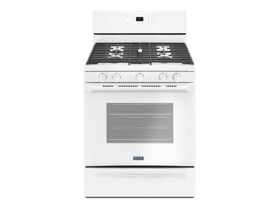 "30"" Maytag Gas Range With 5th Oval Burner - 5.0 Cu. Ft. - MGR6600FW"