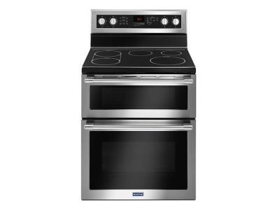 "30"" Maytag Double Oven Electric Range With True Convection - 6.7 Cu. Ft. - YMET8800FZ"