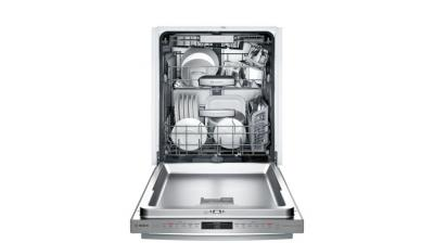 """24"""" Bosch 800 Series Built In Fully Integrated Dishwasher Stainless steel - SHXM98W75N"""