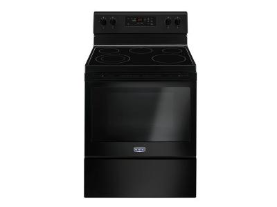"30"" Maytag Electric Range With Shatter-Resistant Cooktop - 5.3 Cu. Ft. - YMER6600FB"