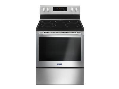 Maytag 30-Inch Wide Electric Range With Shatter-Resistant Cooktop - 5.3 Cu. Ft. - YMER6600FZ