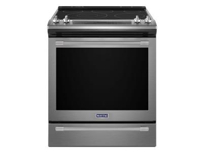"30"" Maytag 6.4 Cu. Ft. Electric Range With True Convection And Power Preheat YMES8800FZ"