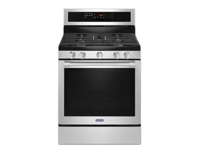 "30"" Maytag GAS RANGE WITH TRUE CONVECTION AND POWER PREHEAT - MGR8800FZ"