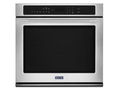 "27"" Maytag SINGLE WALL OVEN WITH TRUE CONVECTION - 4.3 CU. FT. - MEW9527FZ"