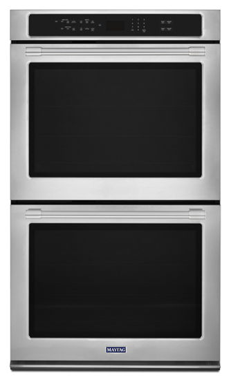 "27"" Maytag DOUBLE WALL OVEN WITH TRUE CONVECTION - 8.6 CU. FT. - MEW9627FZ"