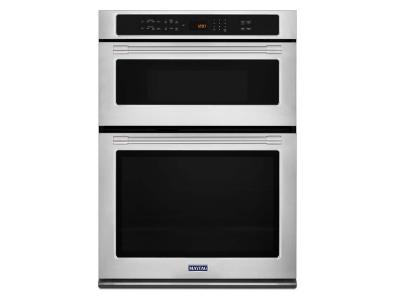 "30"" Maytag Combination Wall Oven With True Convection - 6.4 Cu. Ft. - MMW9730FZ"