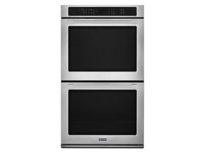 "30"" Maytag DOUBLE WALL OVEN WITH TRUE CONVECTION - 10.0 CU. FT. - MEW9630FZ"