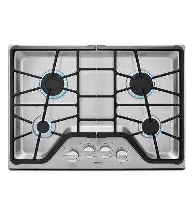 "30"" Maytag 4-Burner Gas Cooktop With Power Burner MGC7430DS"