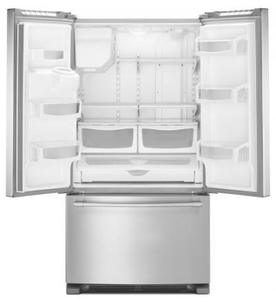 "36"" Maytag 25 Cu. Ft. French Door Refrigerator with PowerCold MFI2570FEZ"