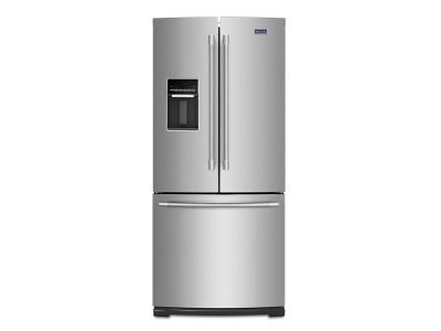"30"" Maytag 20 Cu. Ft. French Door Refrigerator with Exterior Water Dispenser MFW2055FRZ"