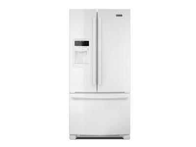"33"" Maytag 22 Cu. Ft. French Door Refrigerator with Beverage Chiller Compartment MFI2269FRW"