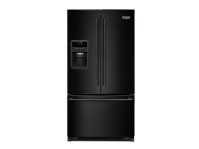 "33"" Maytag 22 Cu. Ft. French Door Refrigerator with Beverage Chiller Compartment MFI2269FRB"