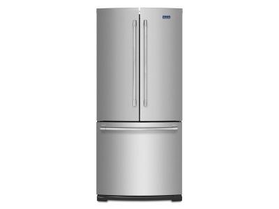"""31"""" Maytag 20-cu ft 3 French Door Refrigerator -MFB2055FRZ"""