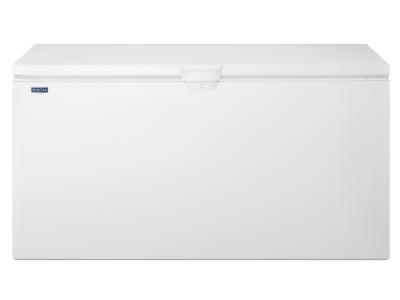 Maytag 22 cu. ft. Chest Freezer with Door Lock - MZC3122FW