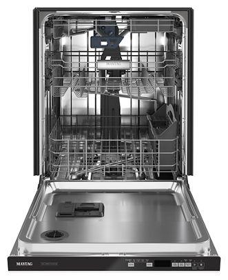 "24"" Maytag Top Control Dishwasher With Third Level Rack and Dual Power Filtration - MDB8959SKW"