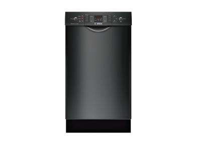 "18"" Bosch  Full Console Dishwasher Black - SPE53U56UC"