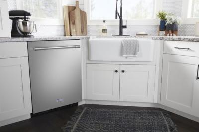 "24"" Maytag Top Control Dishwasher With Third Level Rack and Dual Power Filtration - MDB9979SKZ"