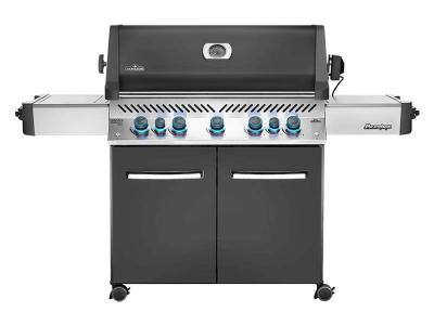 "75"" Napoleon Prestige 665 Infrared Side and Rear Burners, Propane Gas Grill - P665RSIBPCH"