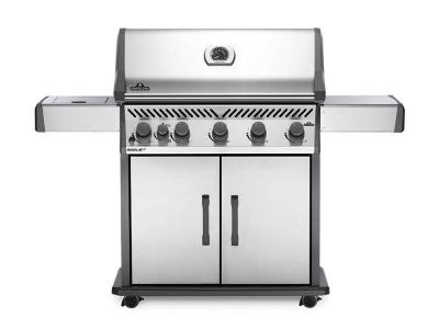"66"" Napoleon Rogue Propane Gas Grill with Infrared Side Burner - RXT625SIBPSS-1"
