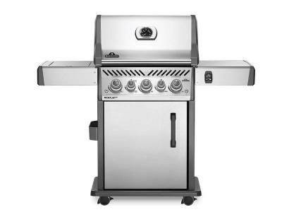 "55"" Napoleon Rogue SE 425 Natural Gas Grill with Infrared Rear Burner and Infrared Side Burner - RSE425RSIBNSS-1"