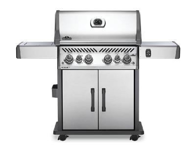 "61"" Napoleon Rogue SE 525 RSIB Natural Gas Grill with Infrared Rear Burner and Infrared Side Burner - RSE525RSIBNSS-1"