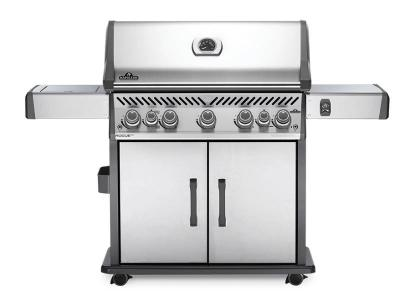 "66"" Napoleon Rogue SE 625 Natural Gas BBQ with Infrared Rear and Side Burners - RSE625RSIBNSS-1"