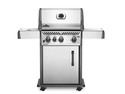 "51"" Napoleon Rogue XT 425 Natural Gas Grill with Infrared Side Burner - RXT425SIBNSS-1"