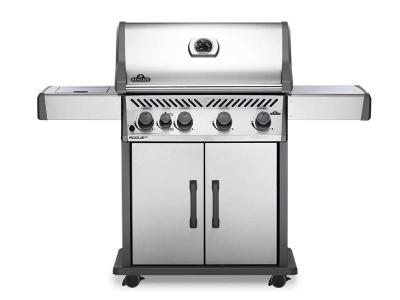 "61"" Napoleon Rogue 4-Burner Propane Gas Grill with Infrared Side Burner - RXT525SIBPSS-1"